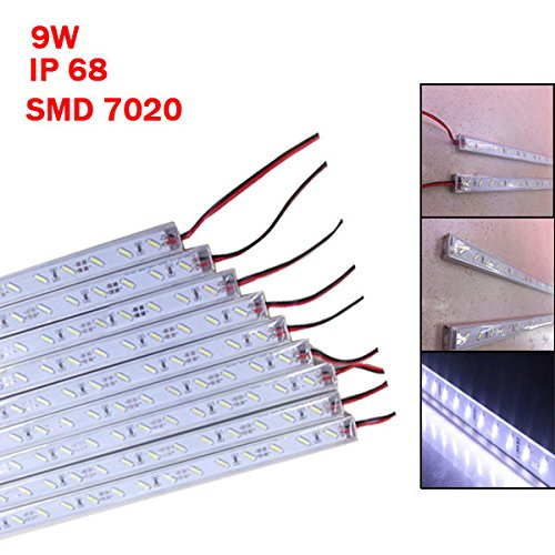 Bazaar 50 Cm ip68 9w smd 7020 36 LED weißes LED starres Streifenschwimmbad 12v