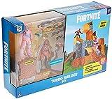Fortnite Set de juego con 2 Figuras, multicolor (Jazwares FNT0115)