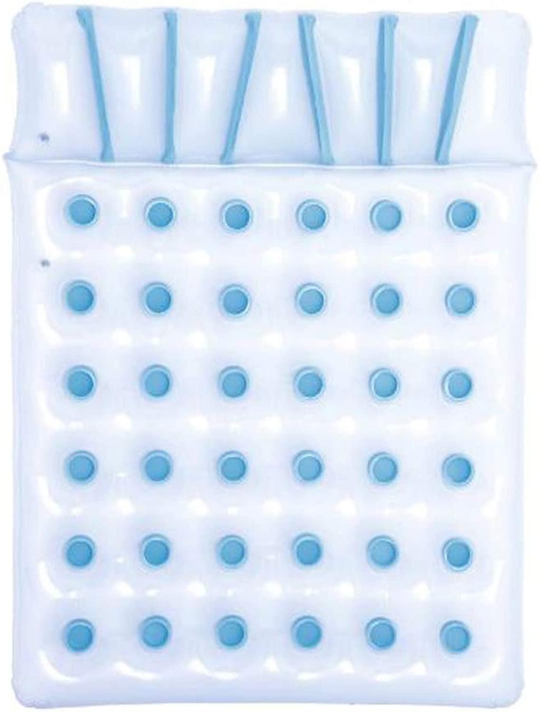二重使用の膨脹可能な浮遊ベッド、ビールプールの浮遊膨脹可能な飲み物のホールダー36のカップ穴が付いている膨脹可能な浮遊物膨脹すること容易にし収縮しそして運びます
