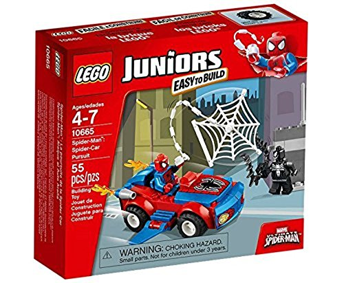LEGO Juniors 10665 - Spider-Man: Car Verfolgung