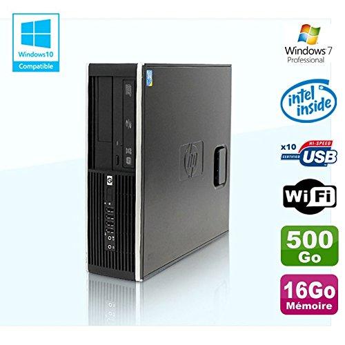 Hp PC Compaq Elite 8100 SFF G6950 2,8 GHZ 16 GB 500gb Wifi Gravierer W7 Profi