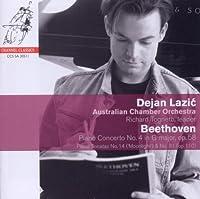Beethoven: Piano Concerto 4, Piano Sonata 14, 31 by Dejan Lazic (2011-02-08)