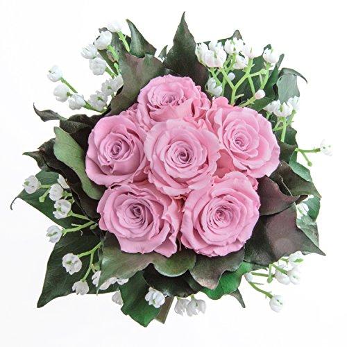 Blumenstrauß mit exklusiven, konservierten langhaltenden Rosen Brautstrauß für Hochzeit und...