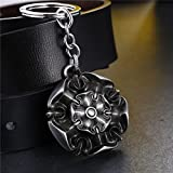 Song of Ice and Fire Keychains silver finish (Tyrell)