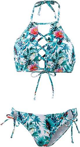 Maui Wowie Damen Bikini Set schwarz 34
