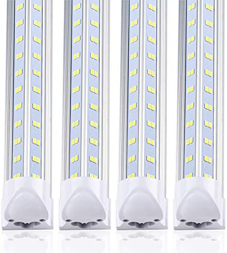 10 Pack 8ft LED Shop Light Fixture V Shape 90w 13000LM 5000K Daylight White 8 Foot Led Lights product image