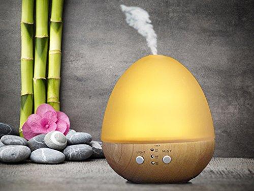 "Livinxs® Aroma Diffuser\""Aerox\"", Duftlampe Diffusor LED Lichter für Zuhause, Yoga, Büro"