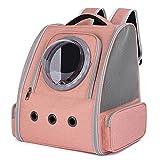 Aerlan Haustier Rucksäcke für,Katzentasche aus der leichten Raumkabine, atmungsaktiver...