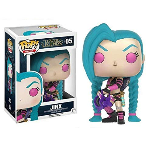 Funko Pop Games : LOL - Jinx 3.75inch Vinyl Gift for Game Fans SuperCollection