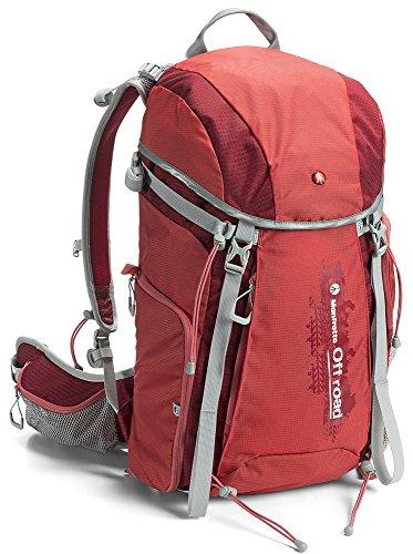 Manfrotto Hiker - Mochila para Actividades al Aire Libre y fotografía (30 l), Color Rojo