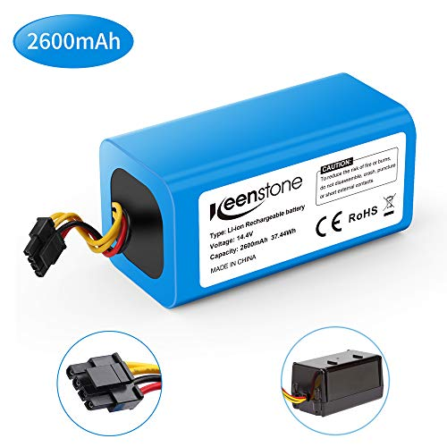 Keenstone Batería 14.4V 2600mah Li-Ion, Reemplazo Compatible con Conga 1290, Conga 1390 y Conga 1590 (La Caja Negra en la Foto no está incluida)