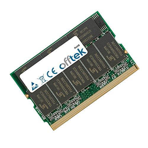 OFFTEK 512MB Ersatz Arbeitsspeicher RAM Memory für Asus S5 (S5NE) (PC2700 - Non-ECC) Laptop-Speicher