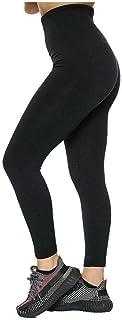 Rimi Hanger Ladies Stretchy Seamless Waistband Fleece Legging Women High Waist Fitness Pants