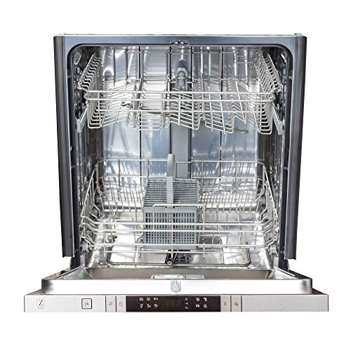 24 in. Top Control Dishwasher in Custom Panel Ready with Stainless Steel Tub
