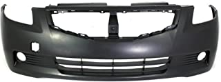 MBI AUTO - Painted to Match, Front Bumper Cover Replacement for 2008 2009 Nissan Altima Coupe (2-Door) 08 09, NI1000250