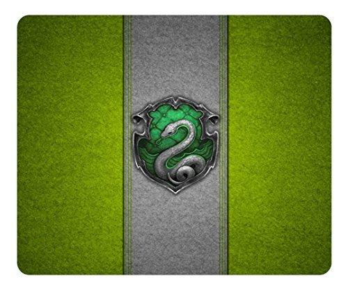 General Creative paiing diseño personalizado Rectángulo ratón Gaming Mousepad Harry Potter Slytherin Rectángulo antideslizante Mousepad agua resiste Oblong Gaming ratón almohadillas por yitomp