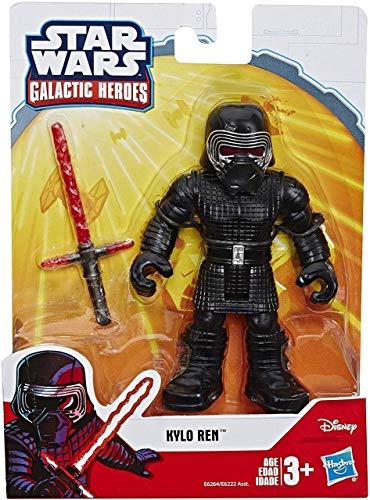 Star Wars Playskool Heroes - Figura Galaxy Heroes - Kylo Ren - E6264 - 13cm - Nuevo
