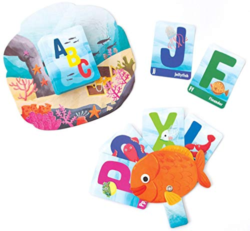 Cheapest Prices! Playhouse A-B-Sea Life Go Fish! Card Game with Fish Shaped Easy Card Holders