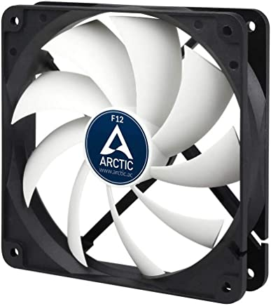 Arctic F12-120 mm Standard Case Fan, Ultra Low Noise Cooler, Silent Cooler with Standard Case