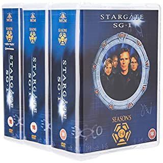 Stargate SG-1 - Complete Season 1-10 plus The Ark of Truth/ Continuum  [DVD]- 212 episodes (B0099JPRBK) | Amazon price tracker / tracking, Amazon price history charts, Amazon price watches, Amazon price drop alerts