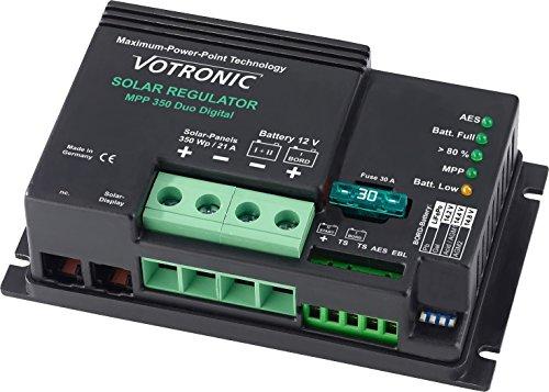 Votronic MPP 350 Duo Digital (Marine Version) 21A MPPT Dual-Solarladeregler 12V