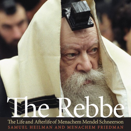The Rebbe audiobook cover art