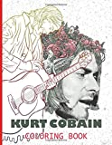 Kurt Cobain Coloring Book: Stunning Kurt Cobain Coloring Books For Adults