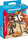 PLAYMOBIL- Neandertal con Tigre Dientes de Sable Juguete, Multicolor...