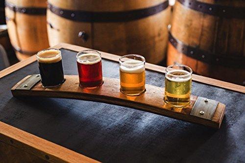 Barrel Stave Beer Flight