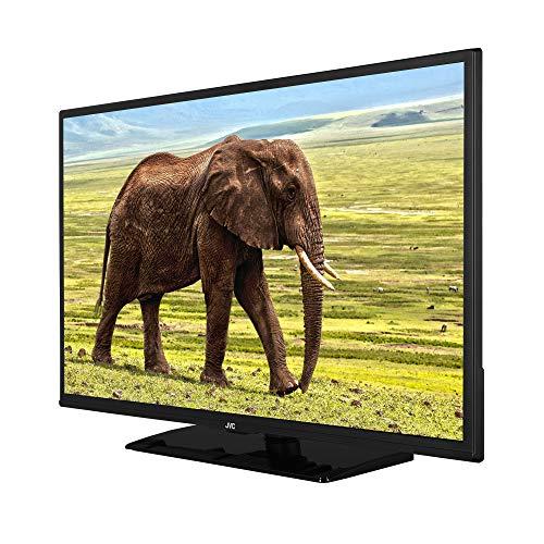 JVC LT-32VH5955 32 Zoll Fernseher (HD ready, Triple Tuner, Smart TV, Bluetooth, Works with Alexa) [Modelljahr 2021],Schwarz