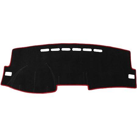 DashMat SuedeMat Dashboard Cover Toyota Corolla Faux-Suede, Black
