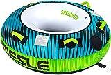MESLE Towable Tube Speedster 58'', 1 Persona, Tubo Gonfiabile Donut Fun-Tube, 840 D Nylon, per Bambini e Adulti, Sport Acquatici Tubo, per Tirare Dietro Barche e Jet-Ski, Farben:Petrol