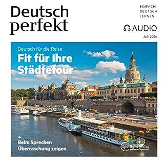 Deutsch perfekt Audio. 7/2016 audiobook cover art
