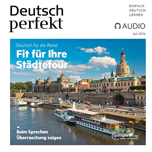 Deutsch perfekt Audio. 7/2016 cover art
