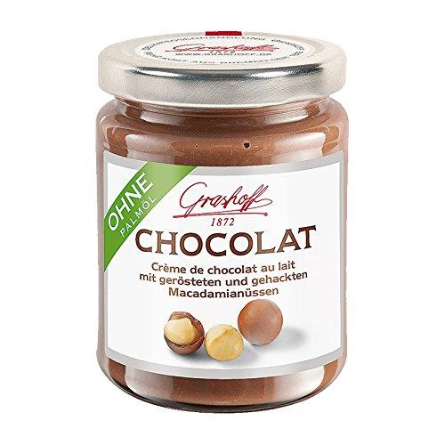 Grashoff Milch-Chocolat Macadamia 250 g