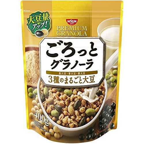 ごろっとグラノーラ 3種のまるごと大豆 400g 6袋