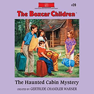 The Haunted Cabin Mystery audiobook cover art