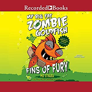 My Big Fat Zombie Goldfish audiobook cover art