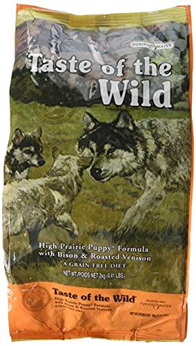 Taste Of The Wild pienso para cachorros con Bisonte y Venado asados 2kg High prairie puppy