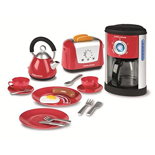 Morphy Richards Kitchen Set–Kettle, Toaster and coffee machine 3+