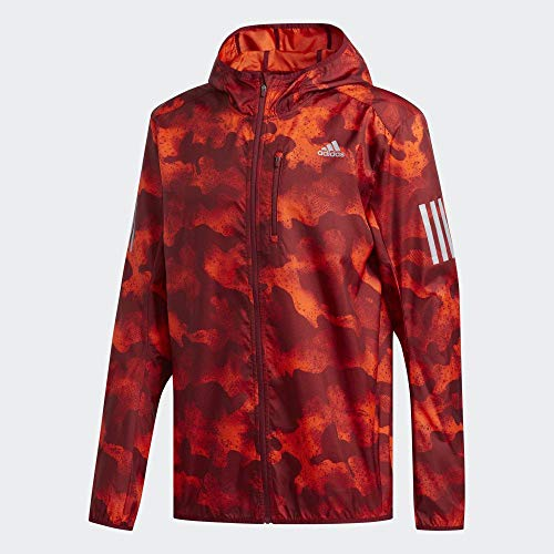 adidas Herren Own The Run JKT Weste, naract/Maract/Buruni, M