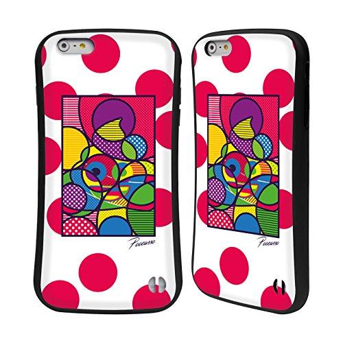 Head Case Designs Oficial Emoji Poocasso Poo 2 Carcasa híbrida Compatible con Apple iPhone 6 Plus/iPhone 6s Plus
