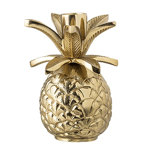 Bloomingville Kerzenhalter Ananas, gold