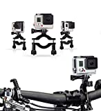 New Navitech Cycle/Bike/Bicycle & Motorbike Roll Bar Mount Compatible with The Hiearcool H9R Action Camera