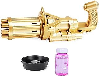 Dorakitten Bubble Machine Automatic Portable 8 Holes Bubble Maker Bubble Blower for Kids Battery Powered Boys Girls