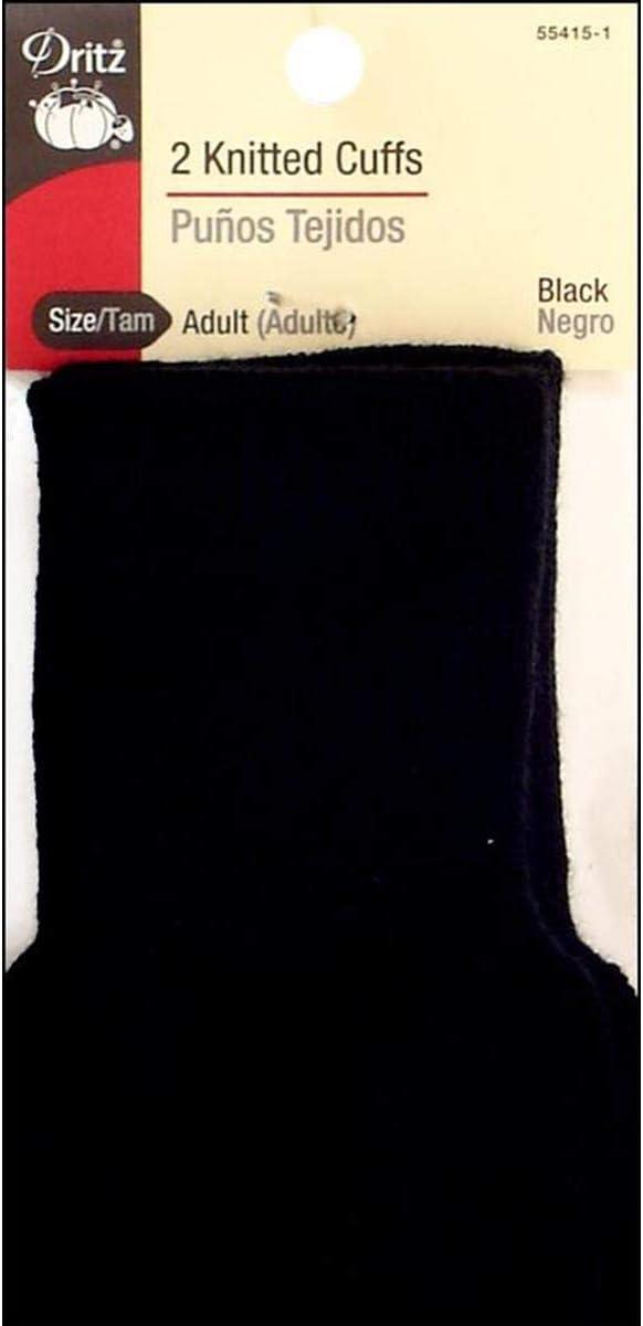 Dritz Adult trust Knitted Black Cuffs: Tucson Mall