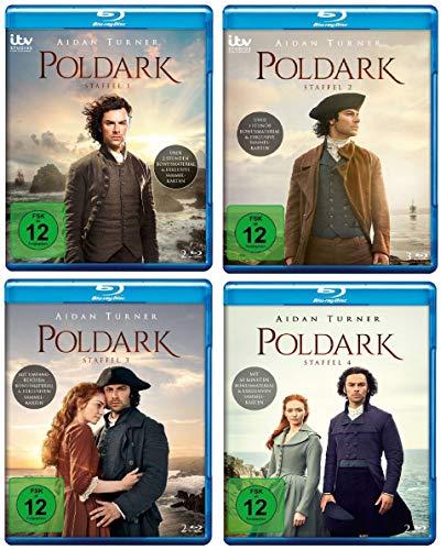 Poldark - Staffel 1-4 im Set - Deutsche Originalware [8 Blu-rays]