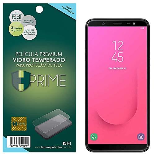 Pelicula de Vidro Temperado 9h para Samsung Galaxy J8, HPrime, Película Protetora de Tela para Celular, Transparente