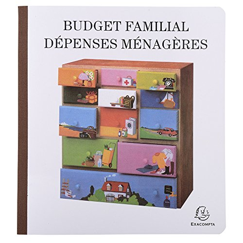 "EXACOMPTA Piqre""Budget dÈpenses mÈnagËres"", 270 x 250 mm VE = 1"
