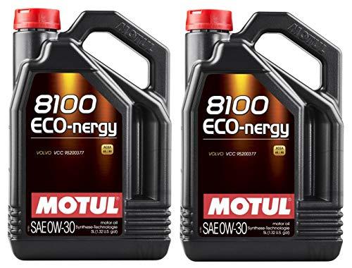 Motul 8100 Eco-nergy 0W30 volledig synthetische motorolie Volvo VCC95200377, 10 liter